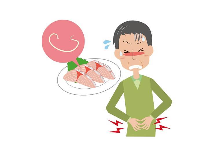 胃アニサキスの原因